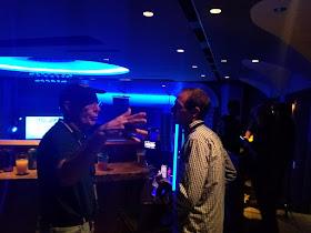Stan and Scott talking hops.