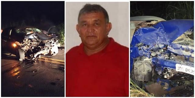 Pai de vereadora morre em acidente na BR 316, no Piauí