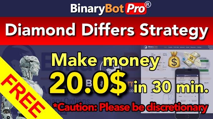 Diamond Differs Strategy | Binary Bot Pro