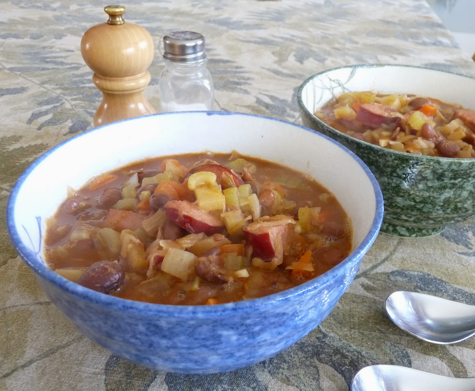 Bableves - Hungarian Bean Soup