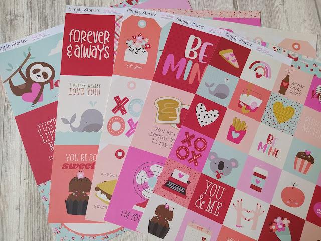 Collection Sweet Talk de Simple Stories