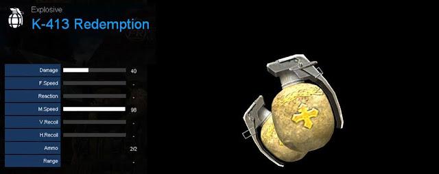 Detail Statistik K-413 Redemption