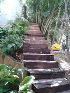 Escadas-de-dormentes