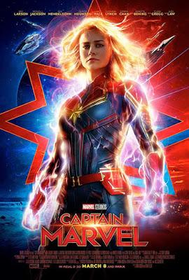 Poster Captain Marvel 2019 Dual Audio HD 720p