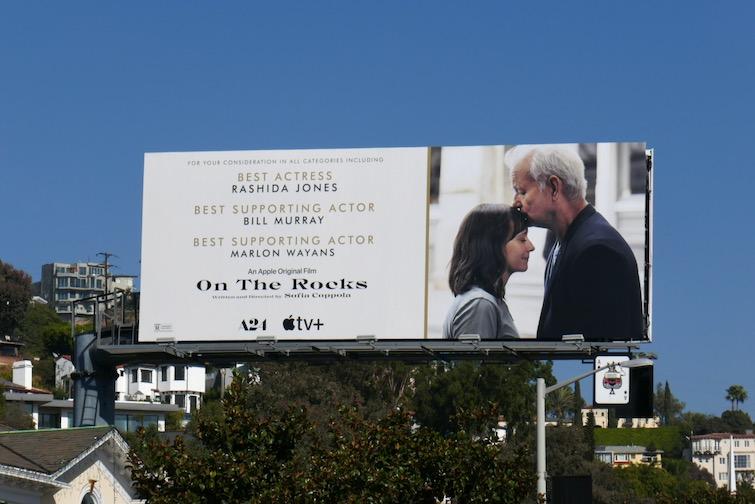 On the Rocks FYC billboard