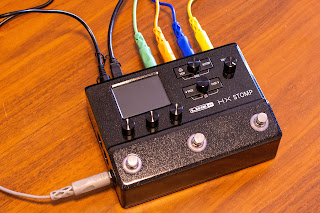 HX Stomp の弱点はスイッチの少なさからくる操作性の悪さだった