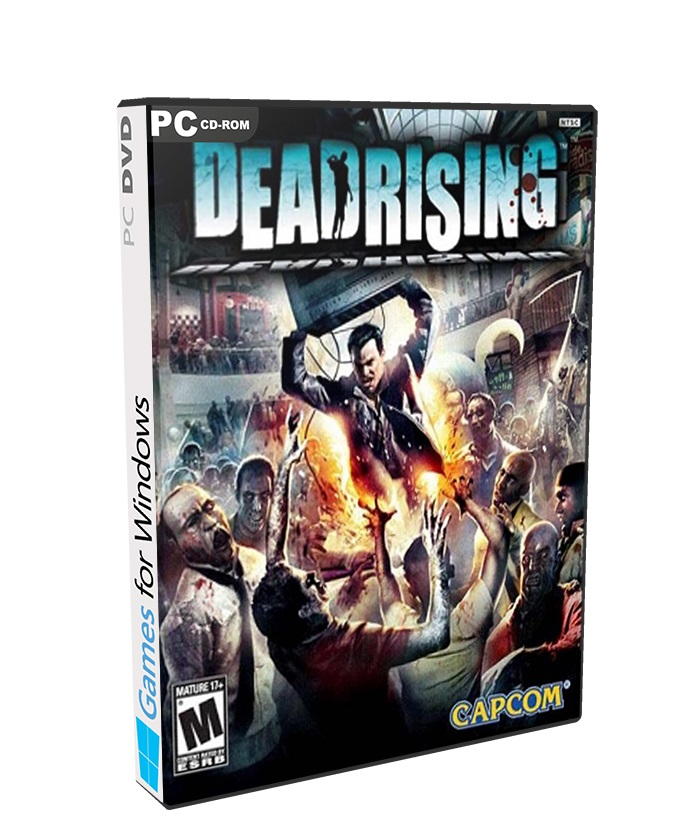 Dead Rising poster box cover