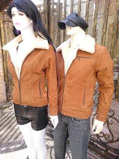 áo khoác da lộn nữ lót lông cừu cao cấp