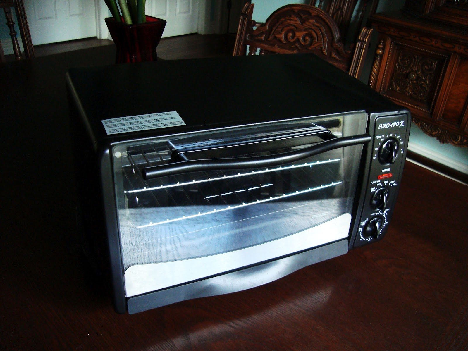 Real Pretty Thangs And Crap Euro Pro Toaster Oven In