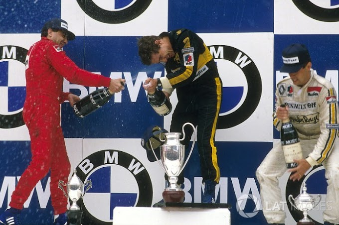 Recuerdos de Estoril: Cómo Ayrton Senna logró su primera victoria en la F1
