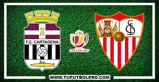 Ver Cartagena vs Sevilla EN VIVO Por Internet Hoy 24 de Octubre 2017