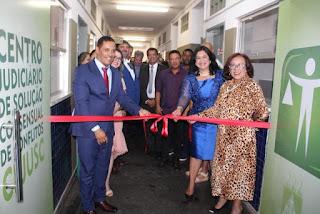 Cejusc é inaugurado em Itaetê