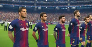 DOWNLOAD : Pro Evolution Soccer (PES) 2018.APK + OBB Data File and For PC