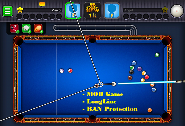 Download 8 Ball Pool 3.8.6 Full LongLine Mod APK Game