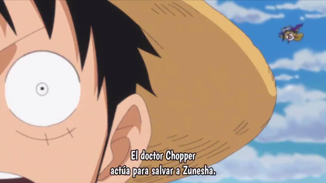 One Piece Anime cap 775 sub español