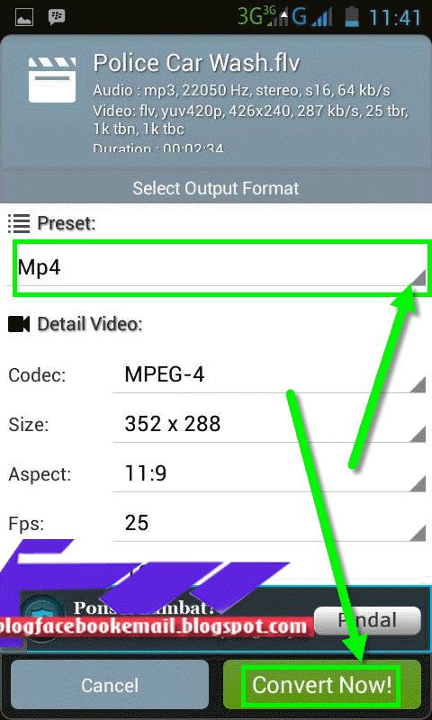 merubah format Mp3 di android