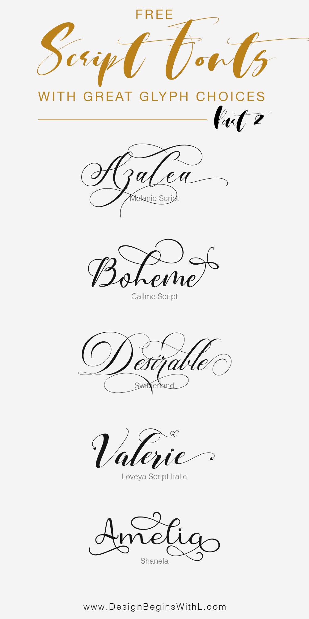Glyph Font : glyph, Script, Fonts, Multiple, Glyph, Styles