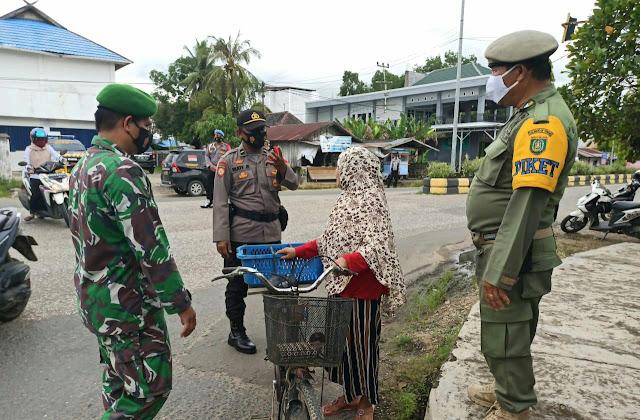 Gelar Operasi Yustisi, Personel Gabungan di Barsel Kembali Razia Pelanggar Prokes
