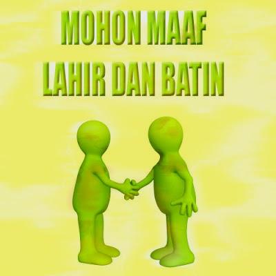 Kartu Ucapan Mohon Maaf Lahir Dan Batin 2017