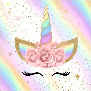 Unicornio Y Arco Iris Etiquetas Para Candy Bar Para Imprimir