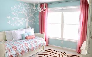 Rekomendasi warna biru muda kamar