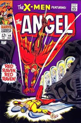 X-Men #44, Red Raven vs Angel