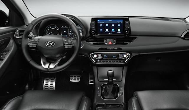 2018 Hyundai i30 Cabin