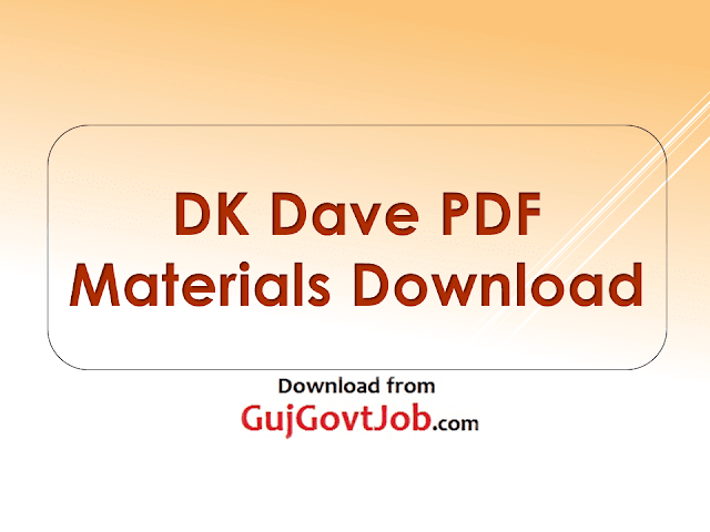 DK DAVE PDF MATERIALS DOWNLOAD
