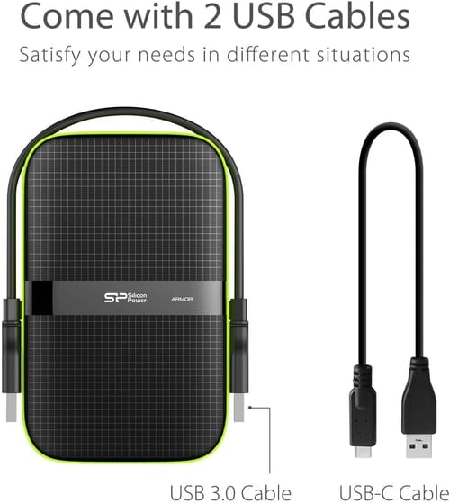 Review SP Silicon Power 5TB USB 3.0 External Hard Drive