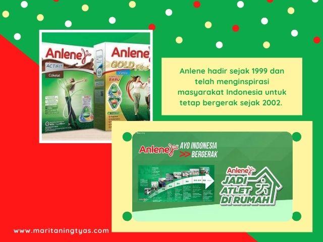 perjalanan Anlene di Indonesia