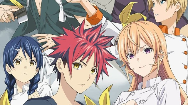 Shokugeki no Soma Season 5 Rilis 10 April Mendatang