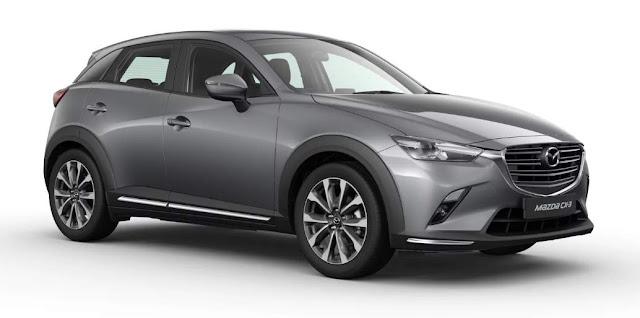 New Mazda CX3 Grey