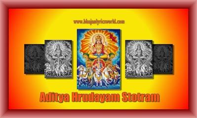 Aditya Hrudayam Stotram Lyrics In English