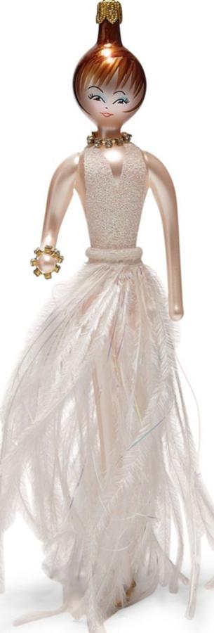 Saks Fifth Avenue De Carlini Glitter Lady Decoration