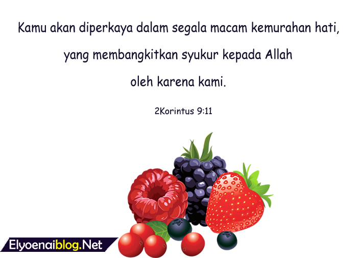 ayat alkitab tentang ucap syukur atas berkat tuhan