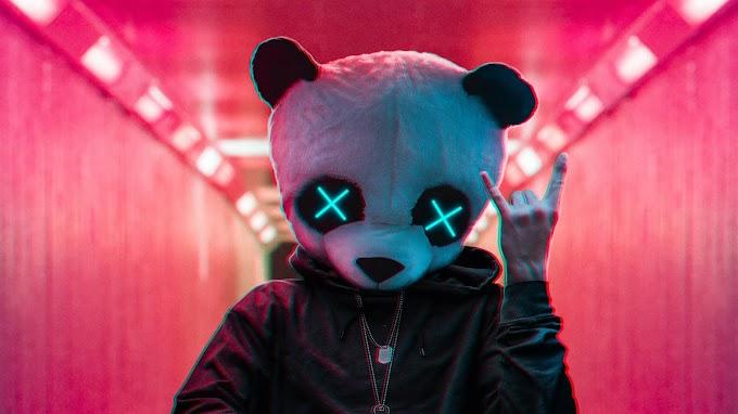 Anonimo com Máscara de Panda