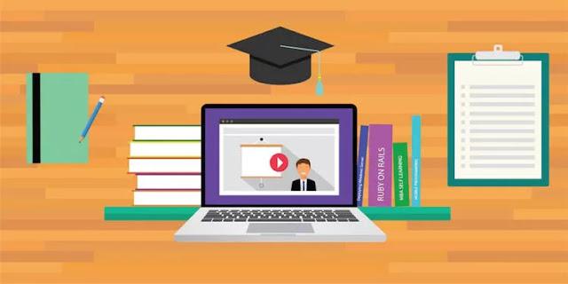 Cara memulai karier baru secara online dengan kursus online.