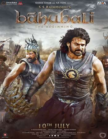 Bahubali The Beginning 2015 Hindi 700MB BluRay 720p ESubs HEVC Watch Online Free Download Google Drive downloadhub.in
