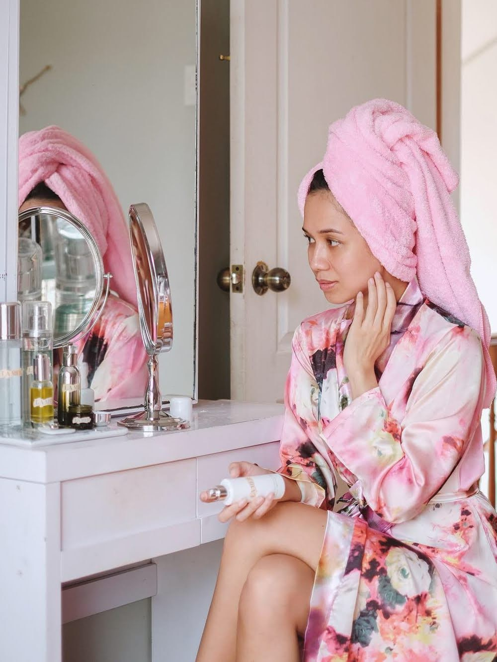Cebu Beauty Blogger - Morning Skincare Routine - La Mer - Origins - SK-II - Cebu Mommy Blogger - Luxury Skincare - Cebu Blogger