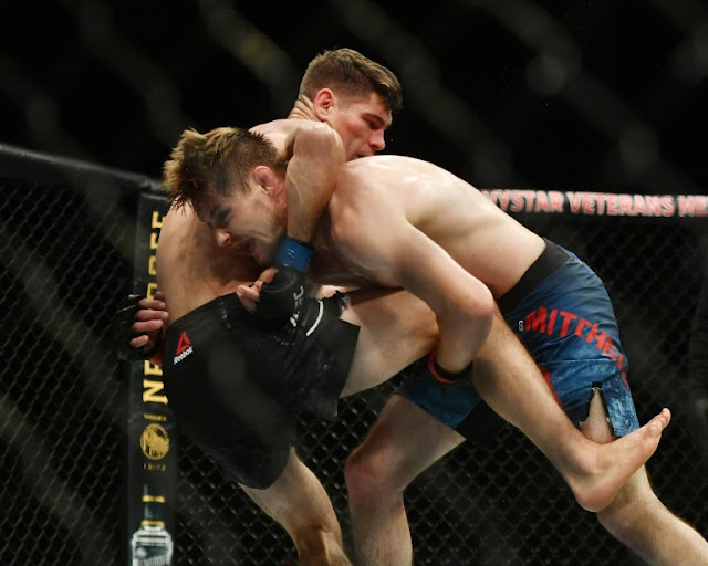 Bryce Mitchell Takes Down Charles Rosa UFC 249