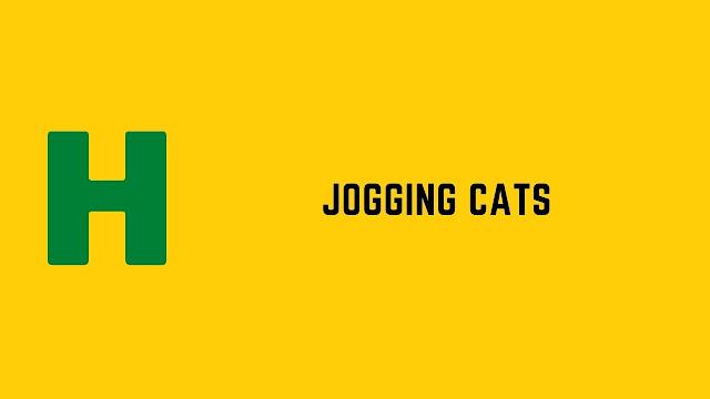 HackerRank Jogging Cats problem solution