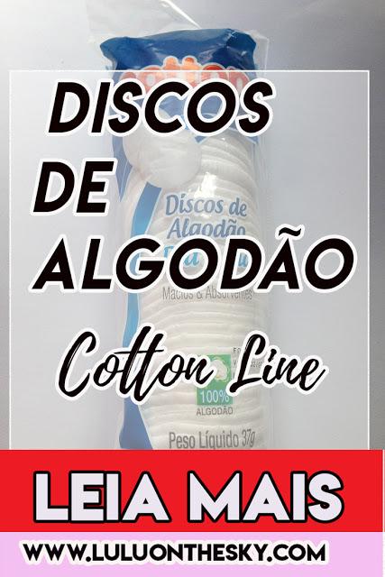 Review Cotton Line Discos de Algodão