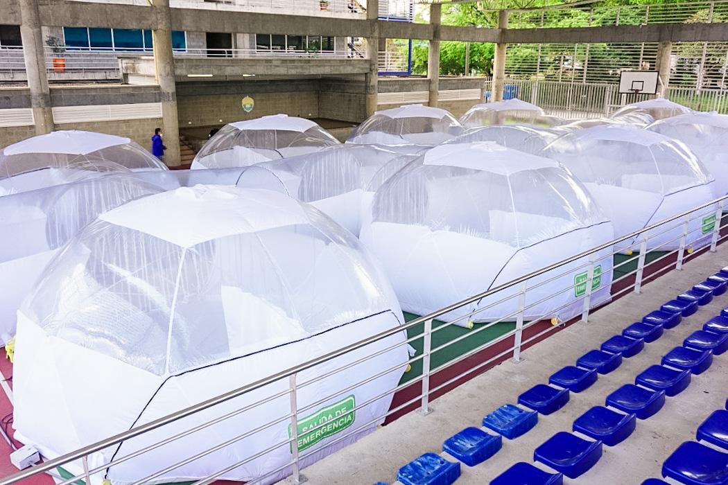 Villavicencio ya cuenta con unidades de aislamiento epidemiológico portátiles