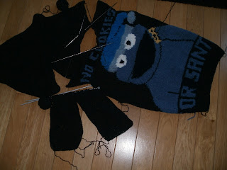 świąteczny sweter Ciasteczkowy Potwór