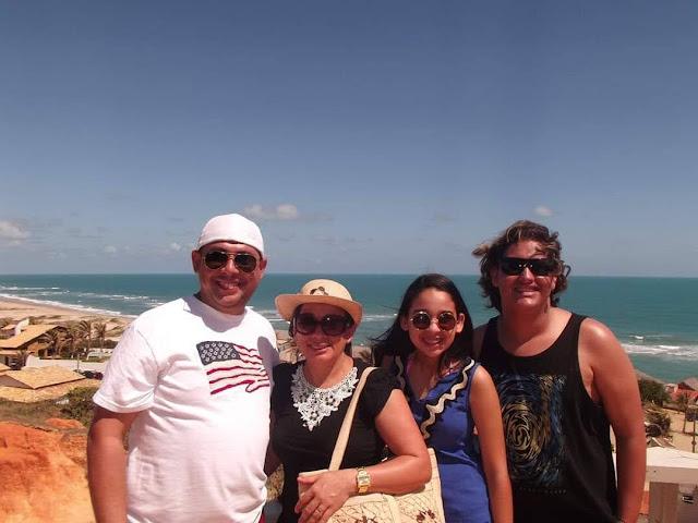 Marcos Roberto e família.