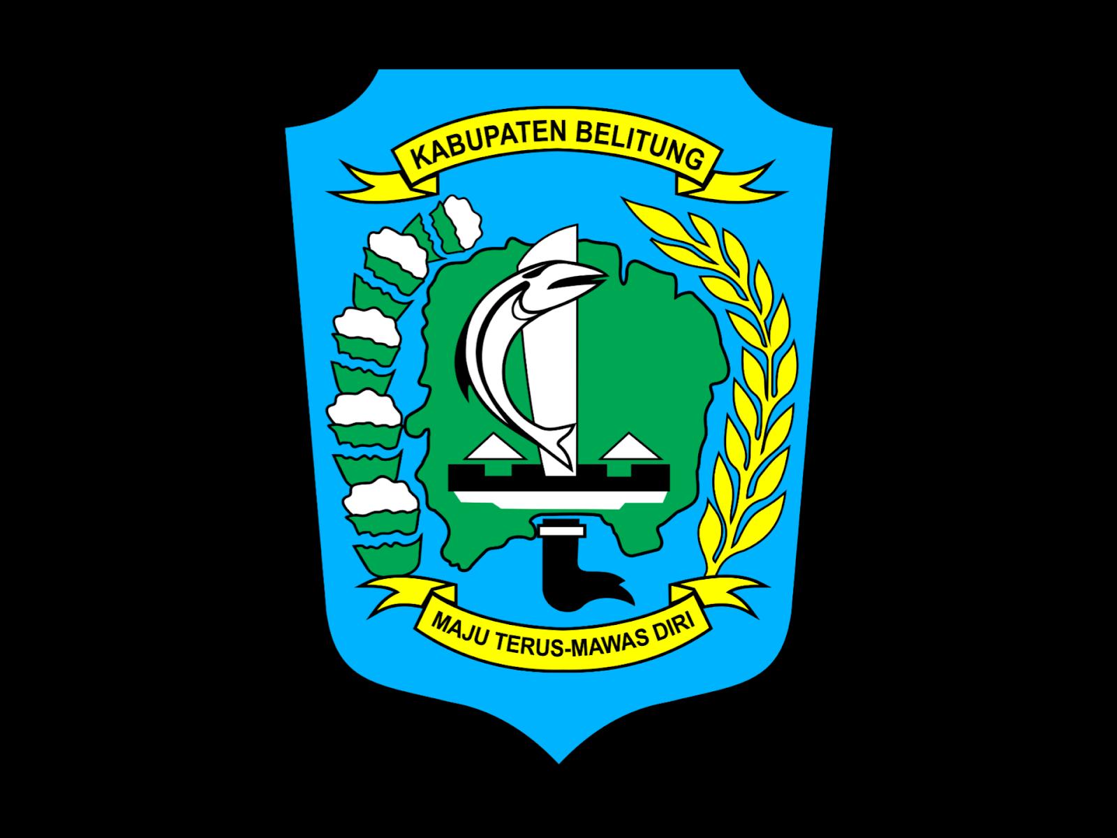Logo Kabupaten Belitung Format PNG