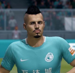 FIFA 19 Faces Marek Hamšík by APasZ
