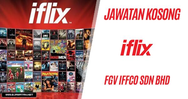 jawatan kosong iflix 2020