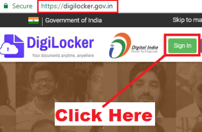 how to recover digilocker password