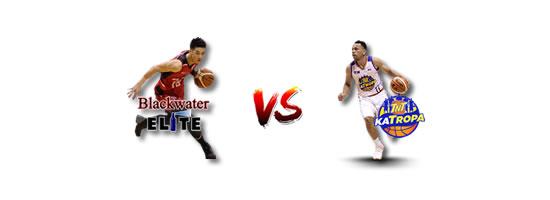 May 18: Blackwater vs TNT, 4:30pm Smart Araneta Coliseum